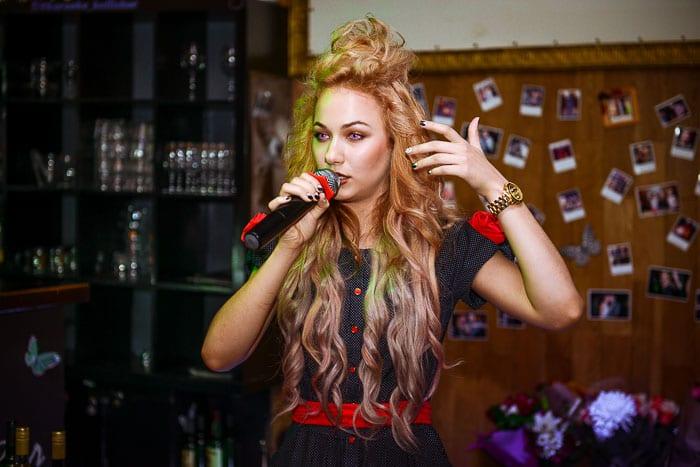 Певица Миля