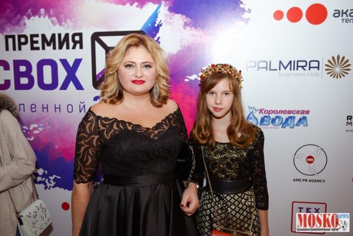 Наталья Палинова с дочкой