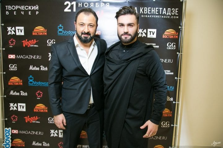 Гига Квенетадзе и Нодар Ревия