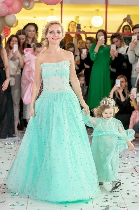 Ирина Сашина с дочкой