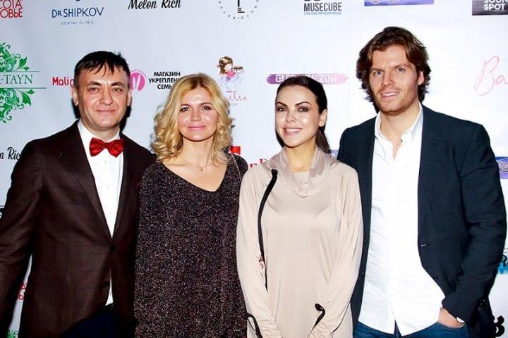 Светлана Абрамова с мужем
