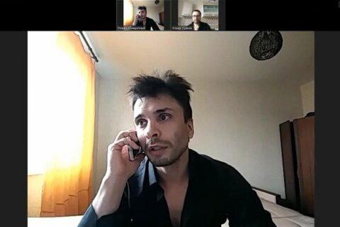 Андрей Закопайло, актёр-каскадёр, играет детектива Романа Конкретного