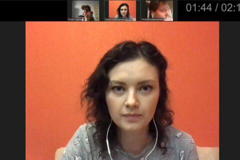 Дарья Мананникова, актриса, играет Лилию, жену Георгия