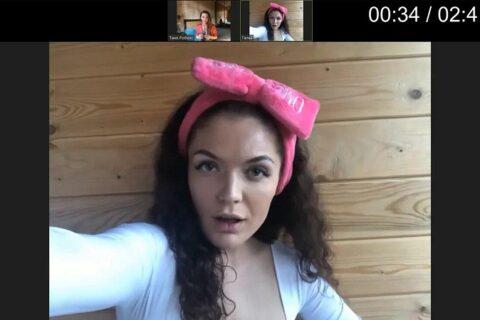 Янита Сухова, актриса, играет меркантильную подругу Дианы