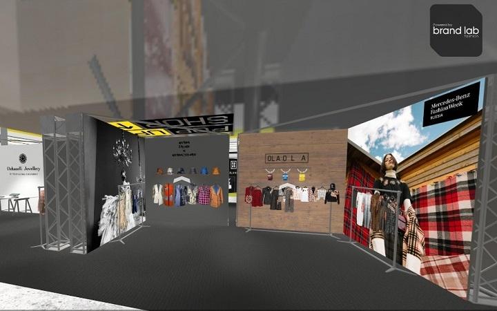 Віртуальны шоурум Pop-Up Shop-Корнер брэндаў