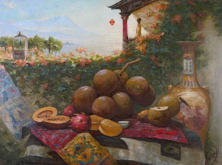 Александр Смирнов_Восточный натюрморт