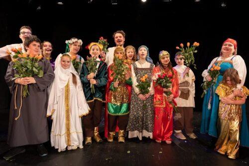 Открытие сезона в театральной студии «Сны Алисы»